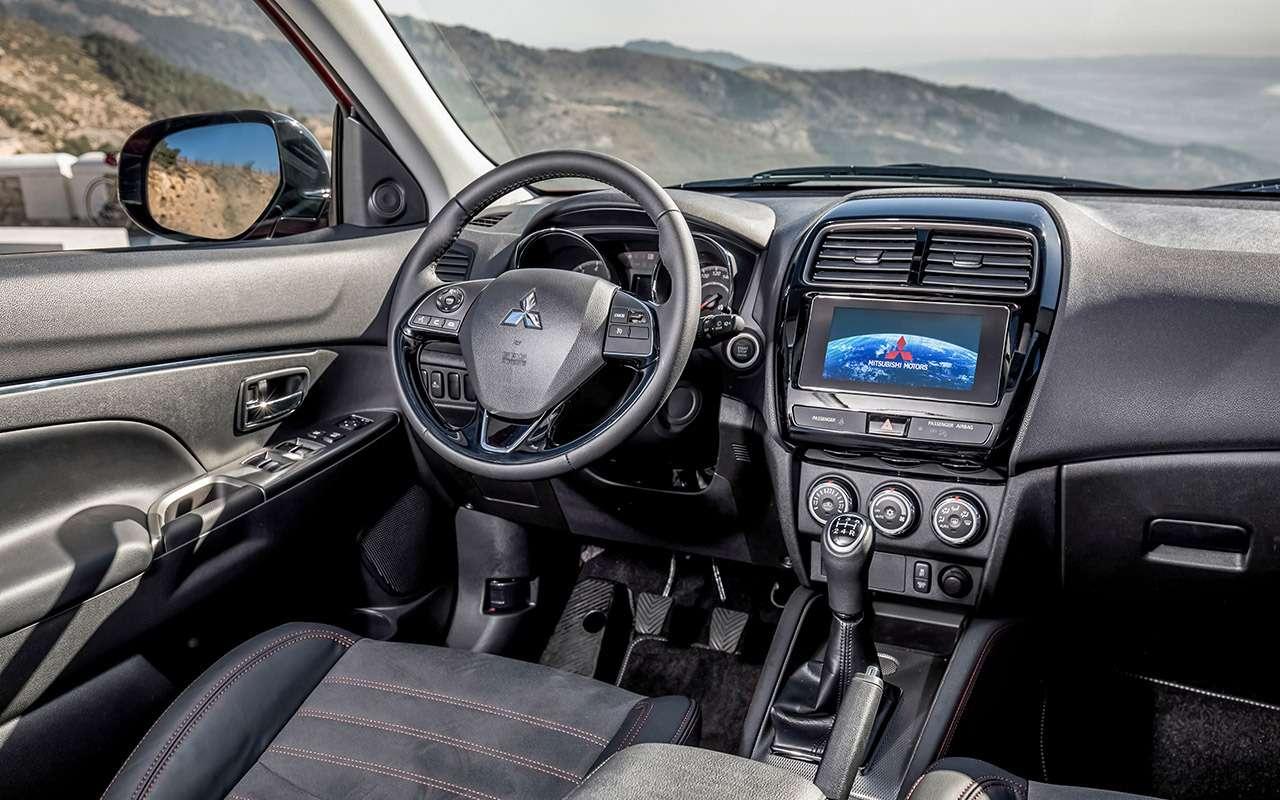 Mitsubishi ASX спробегом: полный список проблем— фото 1224209