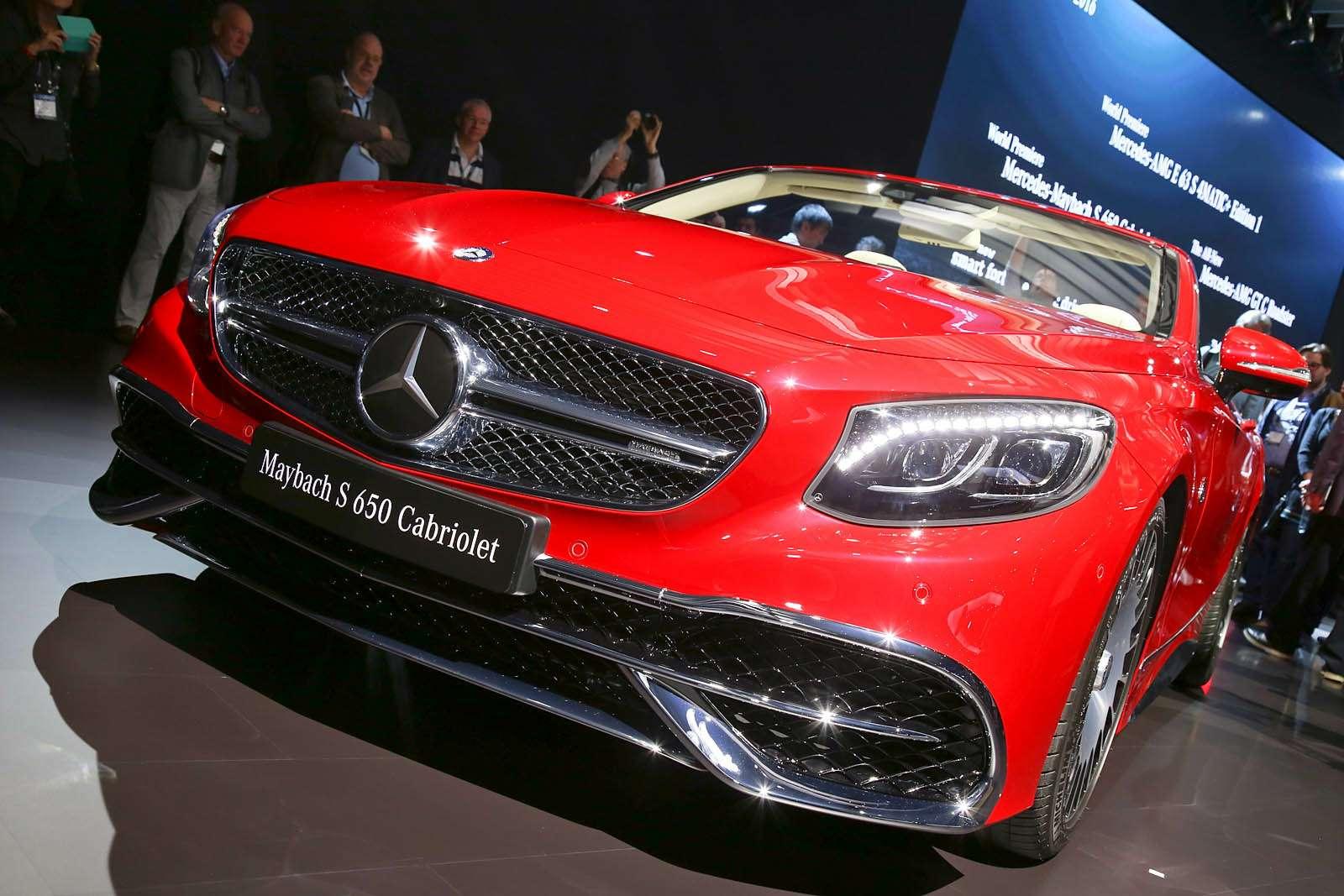 Царская особа: Mercedes-Maybach S650 Cabriolet раскрывает тайны— фото 665262