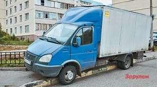 ГАЗ-3102с фургоном нашасси