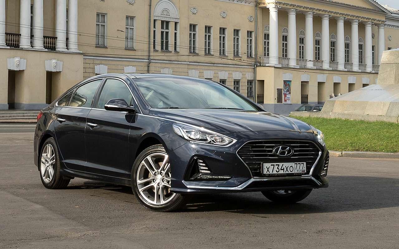 Новая Hyundai Sonata— первый тест-драйв— фото 798487