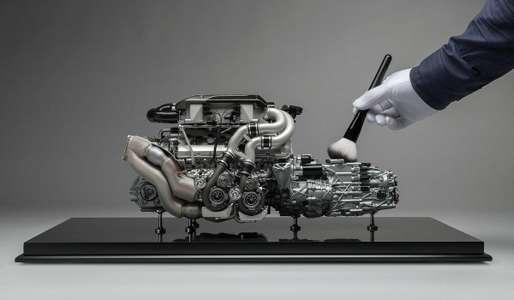 Двигатель Bugatti Chiron оценили в 9365 долларов. Неработающий и маленький