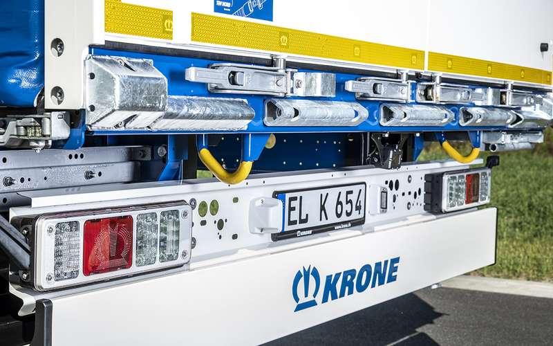 10хитрых решений вновом полуприцепе Krone Profi Liner