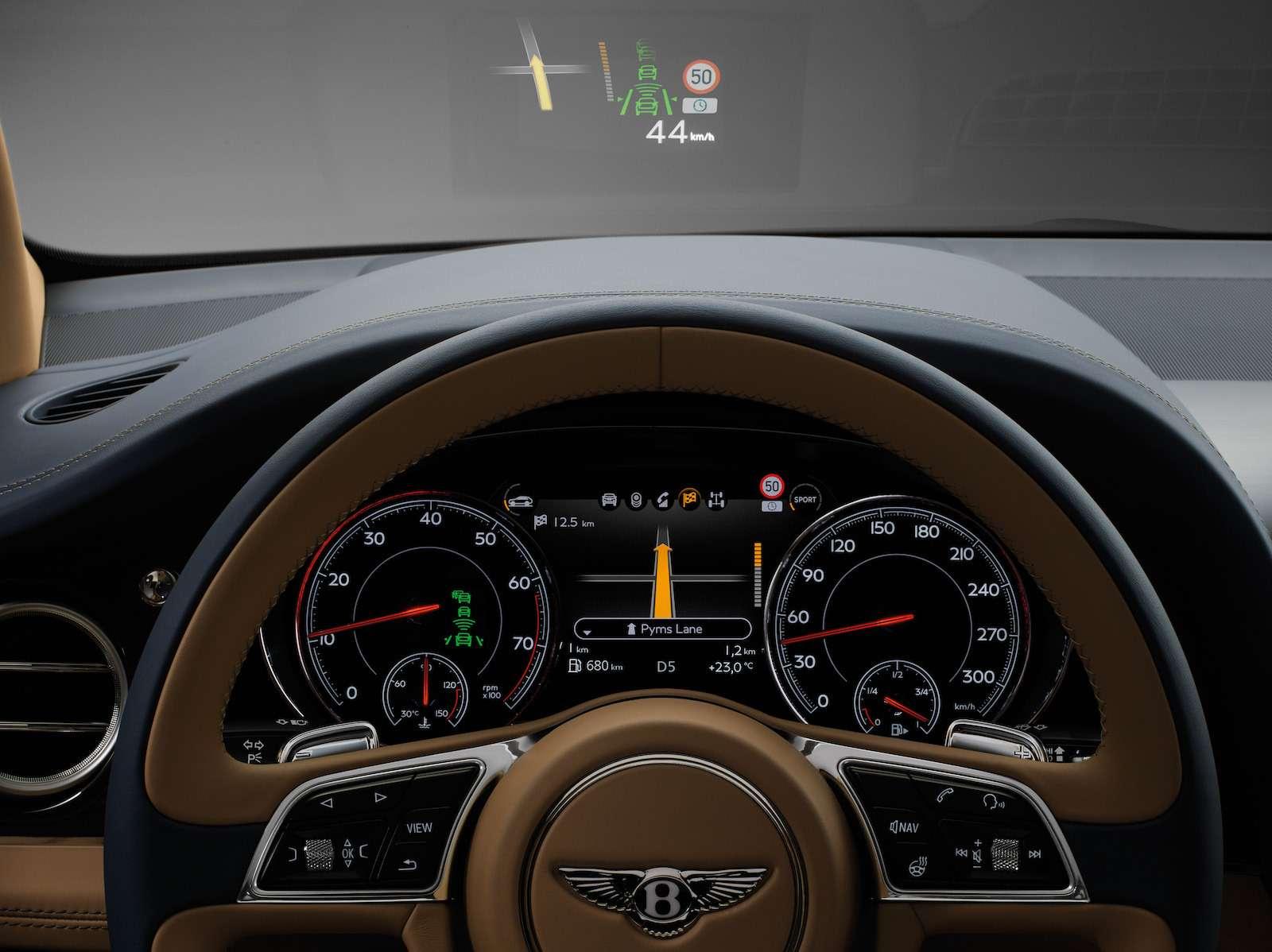Bentley Bentayga Diesel: 4,8до сотни— самая медленная версия!— фото 884142