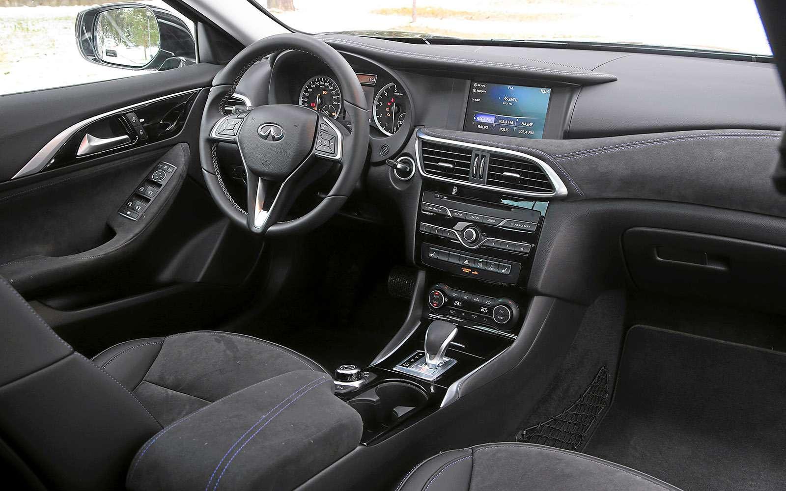 VWGolf GTI против Infiniti Q30—  кто любит погорячее— фото 710204