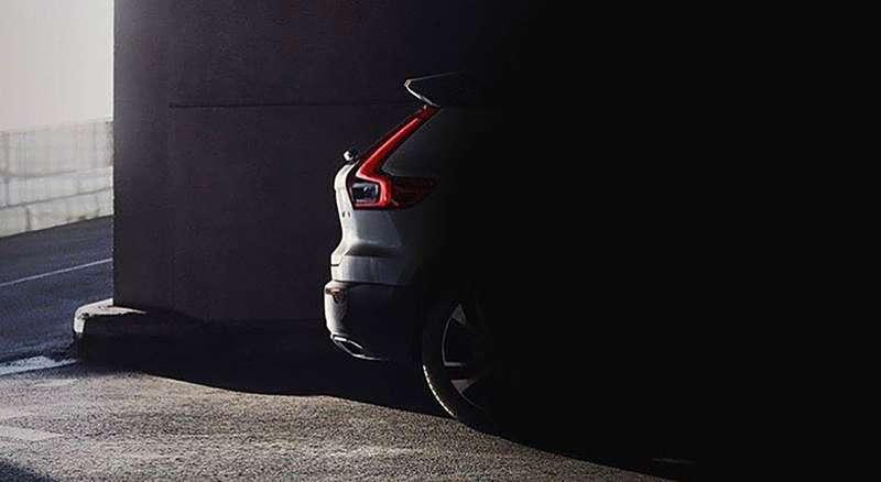 Компактный кроссовер Volvo XC40: первое изображение