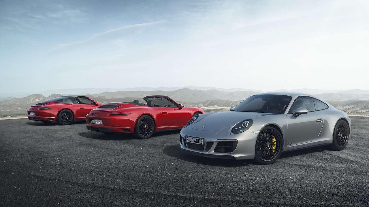 Рябь вглазах: Porsche 911GTS надел «кислородную маску»— фото 690604