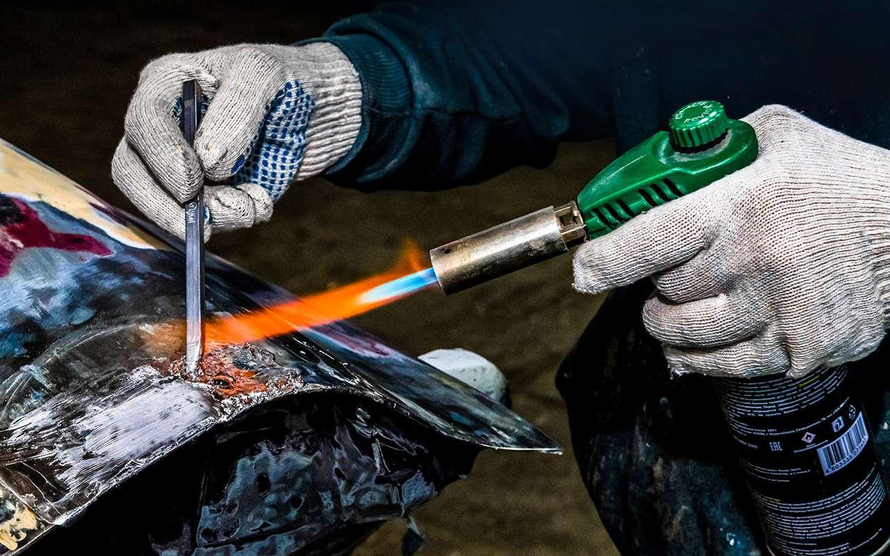 Каксэкономить накузовном ремонте— полузабытый способ— фото 964532
