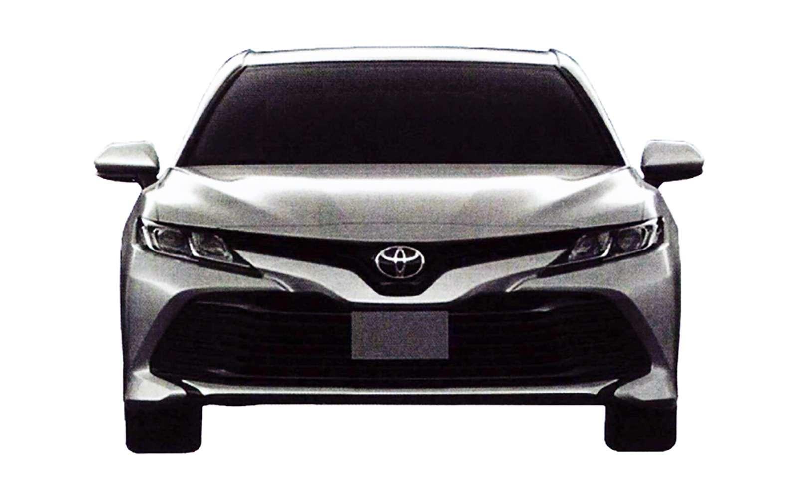 Новая Toyota Camry дляРоссии— первые изображения— фото 819229