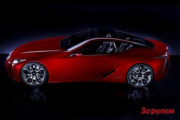 Lexus LF-LC side view