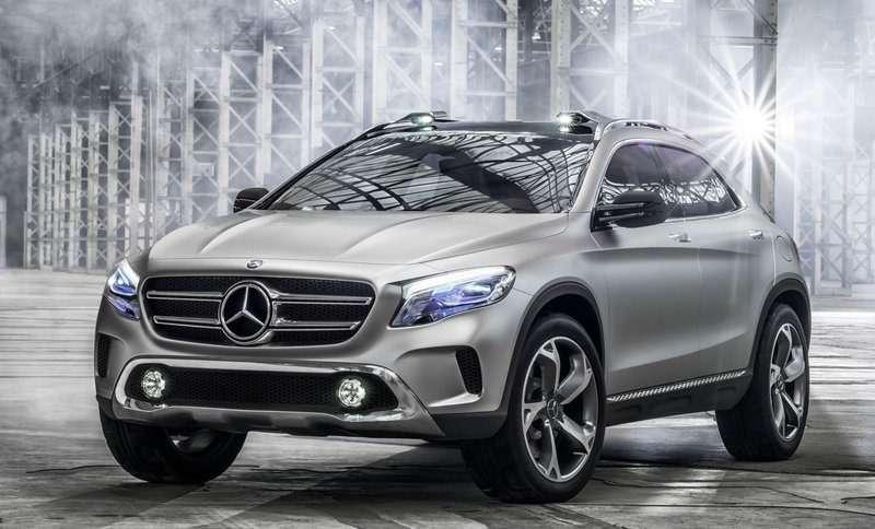 nocopyright Mercedes GLA Concept 2