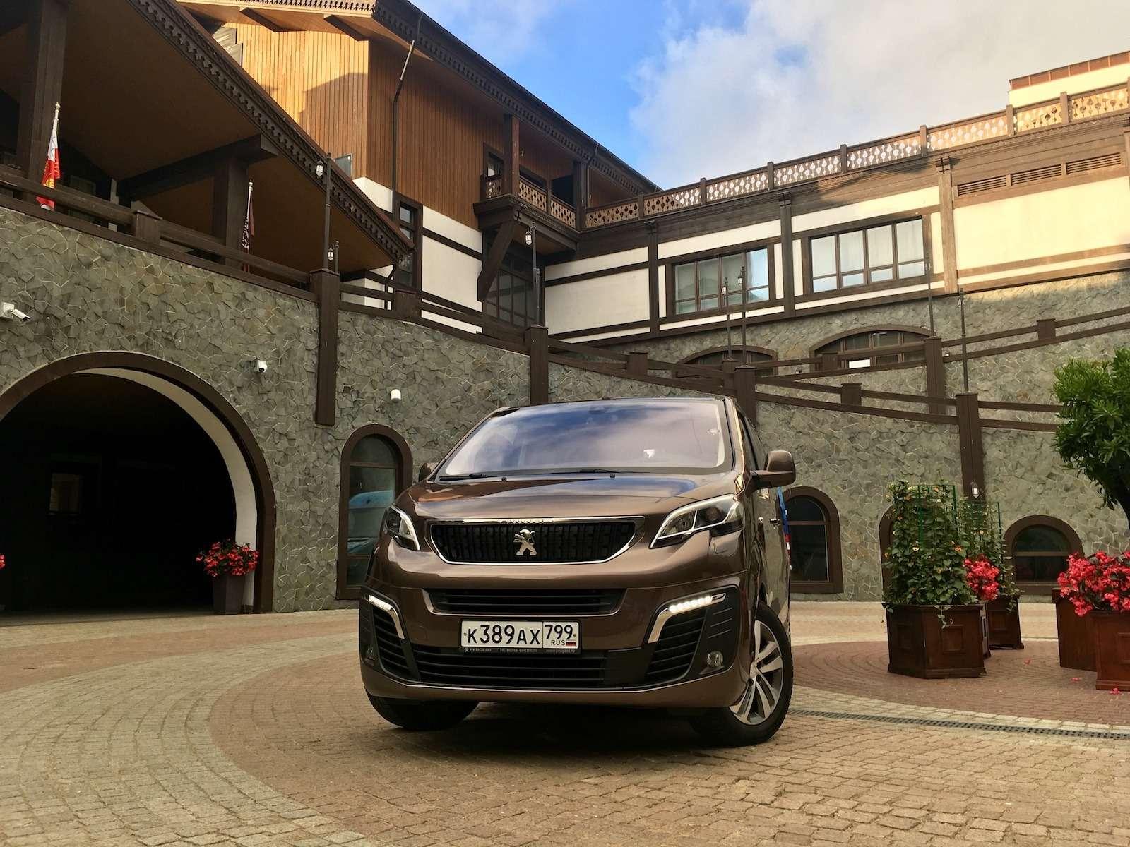 Peugeot Traveller VIP Business: сообразим насемерых?— фото 905233