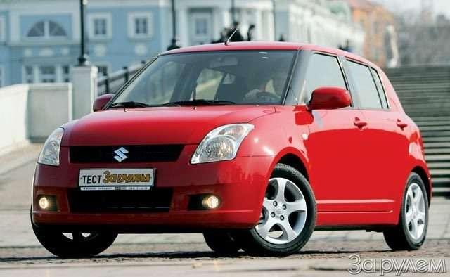 Suzuki Swift. Крепенький малыш— фото 56371