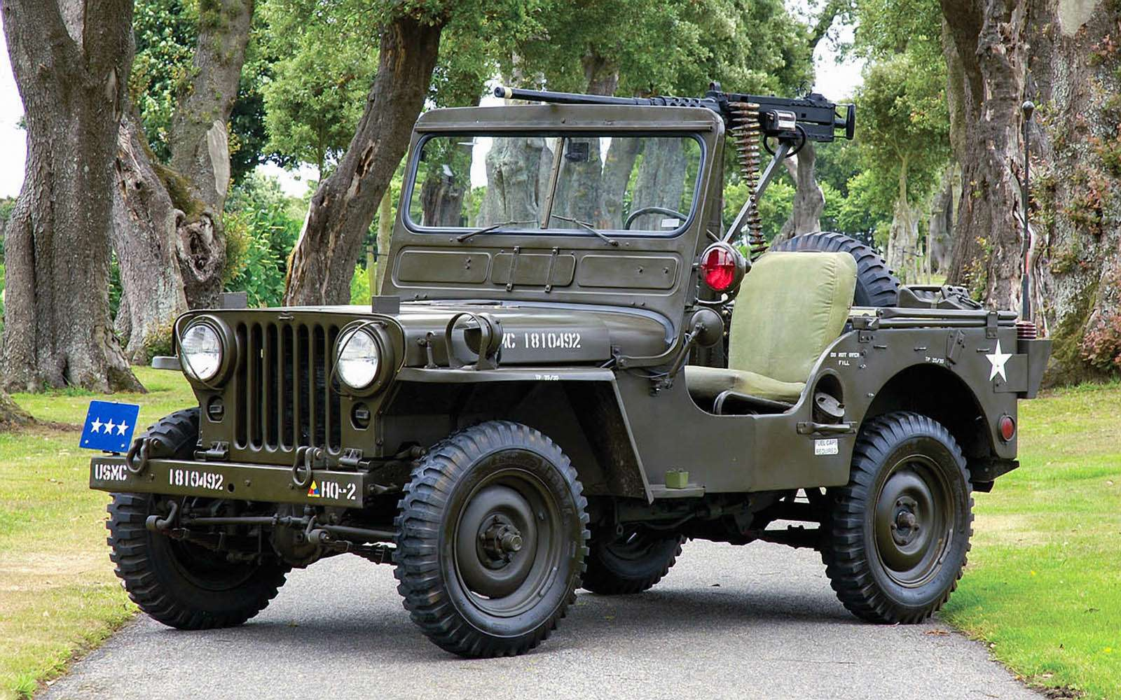 Willys M38 Jeep, 1950-1952