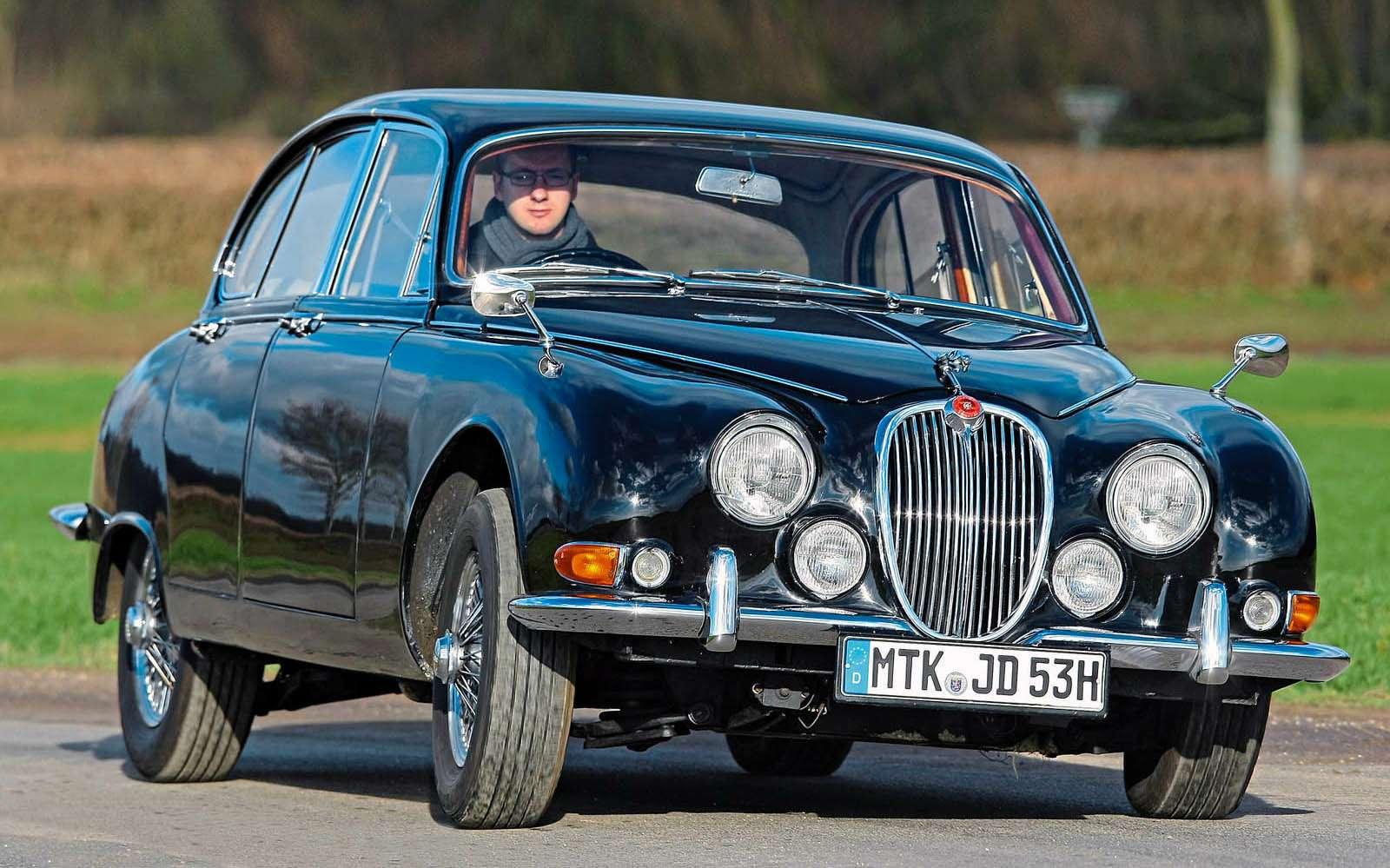 Jaguar S-Type, 1963-1968