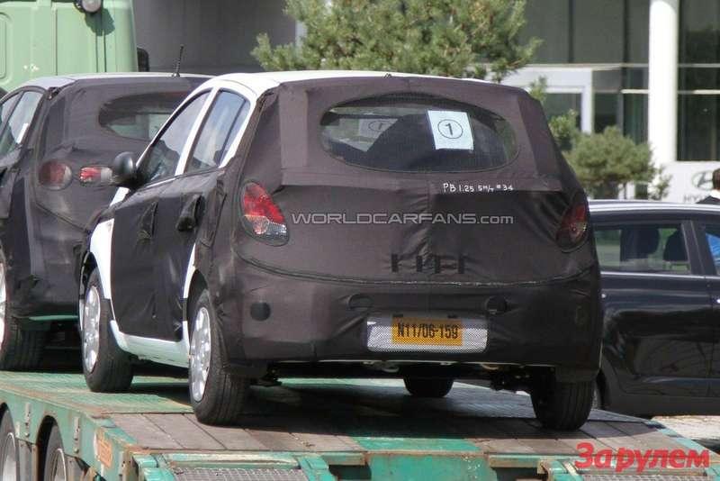 Facelifted Hyundai i20 rear view