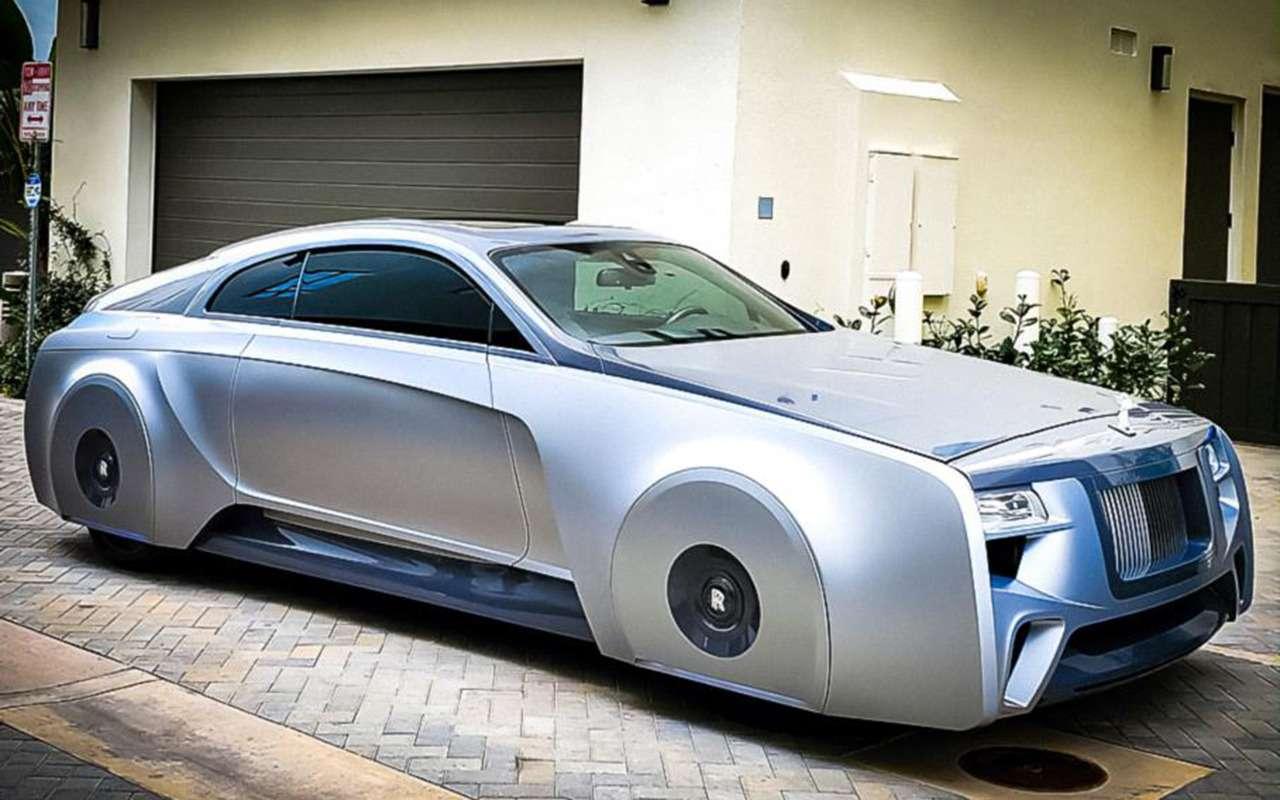Rolls-Royce: зачто сомной так? Джастин Бибер: Аченетак-то?!— фото 1221314