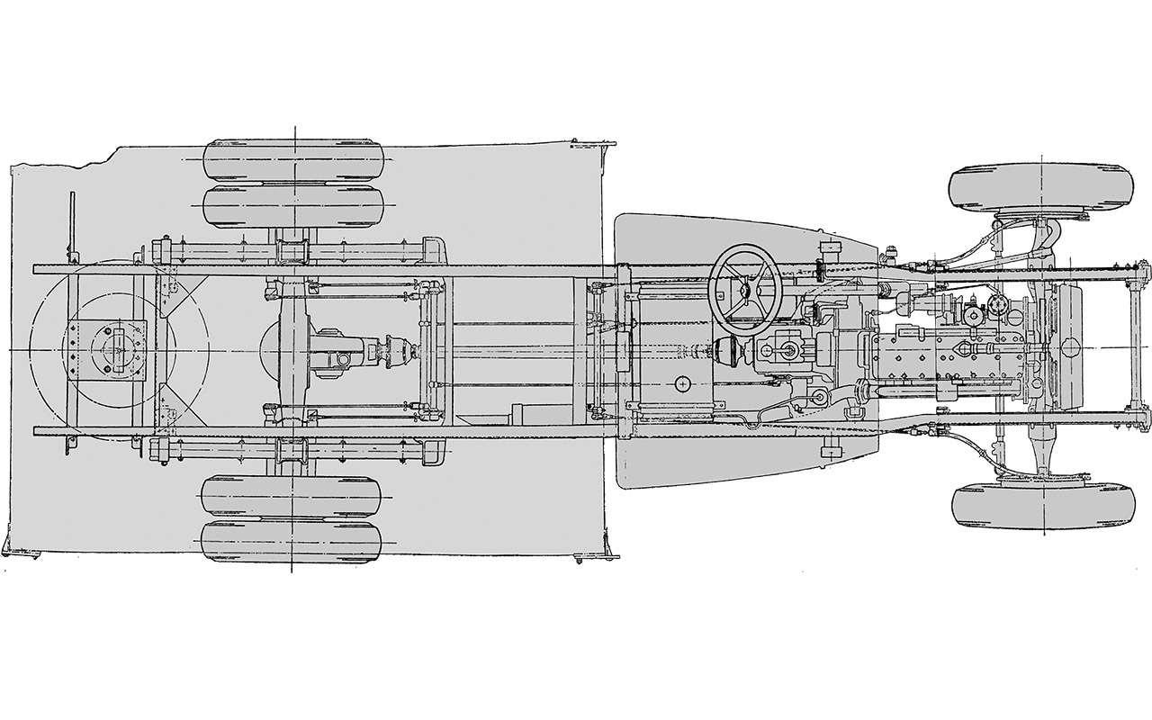 Советская «трехтонка»: заглянули вееродословную— фото 1283972