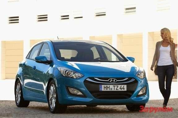 Hyundai i30 front view 2