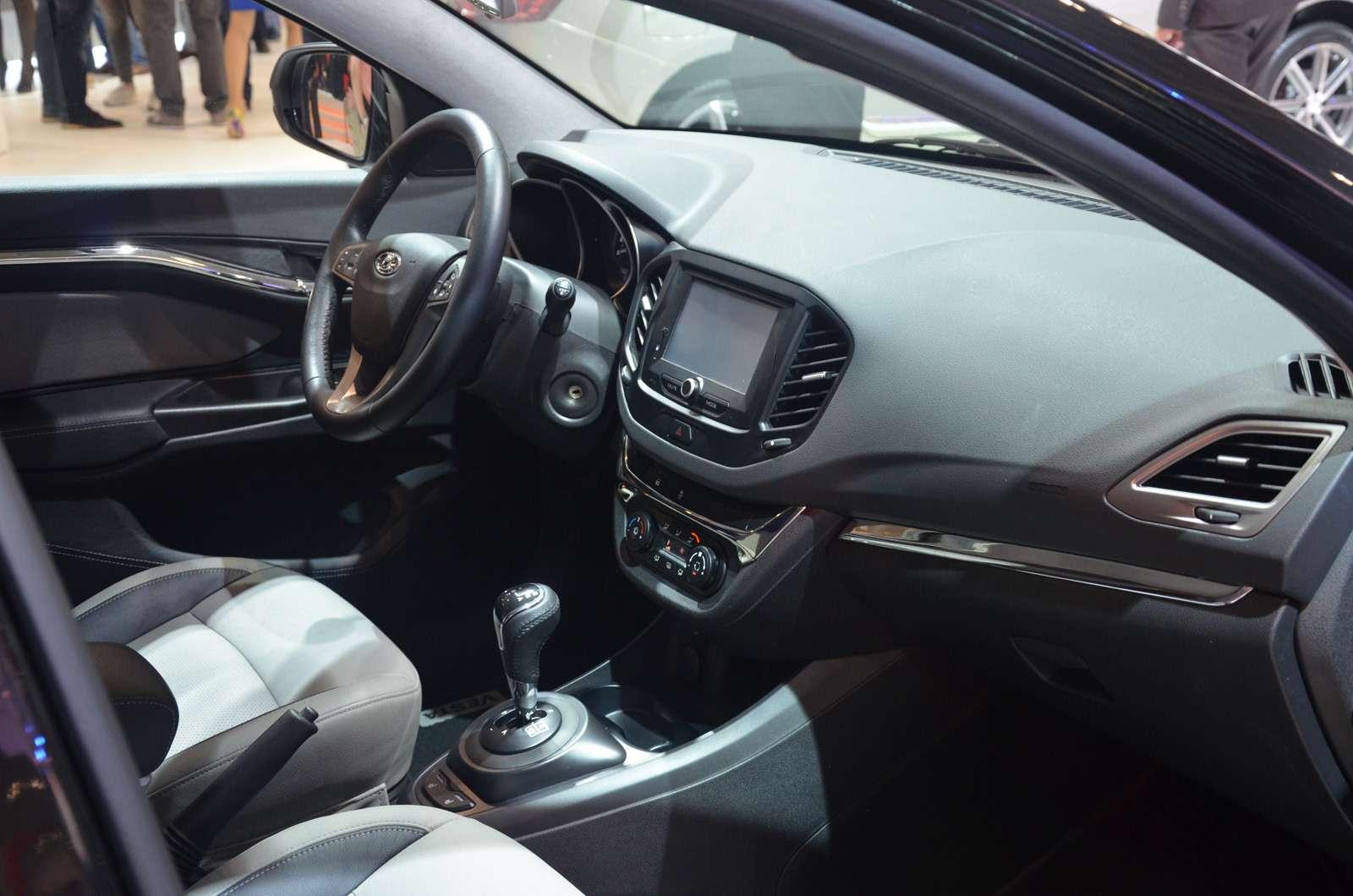 НаМосковский автосалон Lada въехала наXCODE— фото 623955