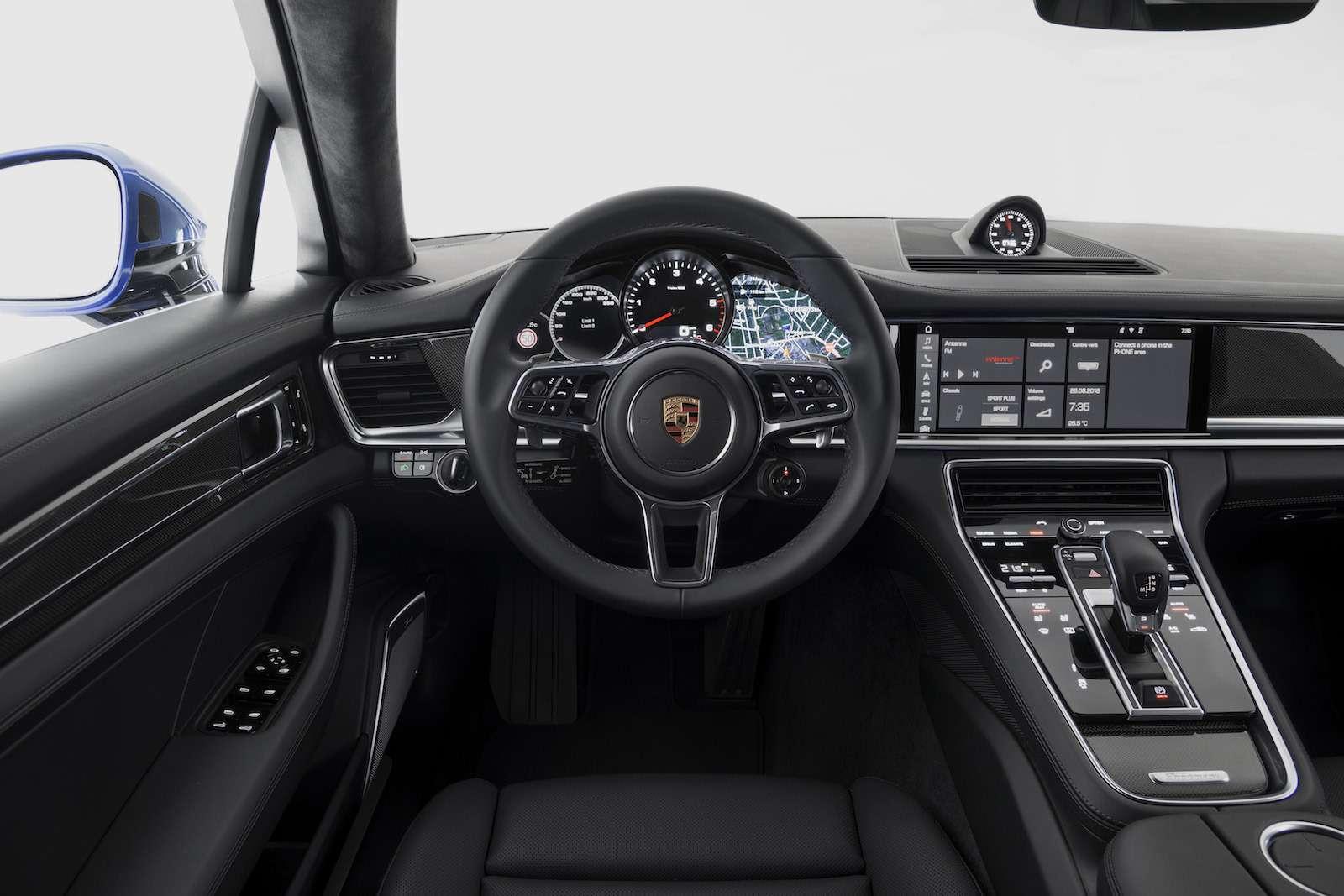 Новую Porsche Panamera показали российским СМИ— фото 630863