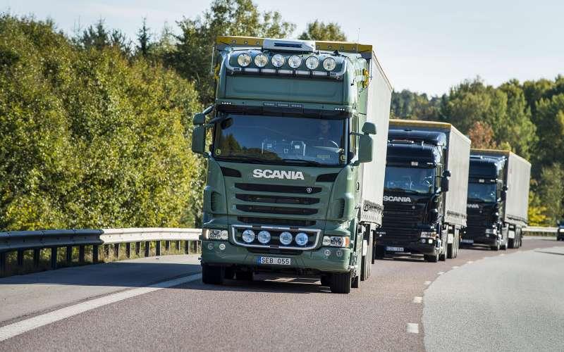 Грузовиками Scania можно будет управлять смобильника