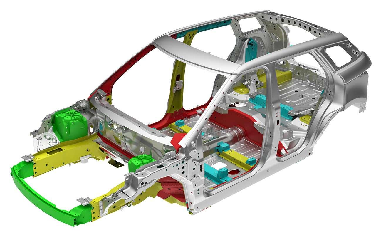 Автомобиль спрозрачным капотом— тест ЗР— фото 939340
