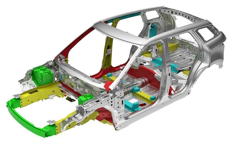 Автомобиль спрозрачным капотом— тест ЗР