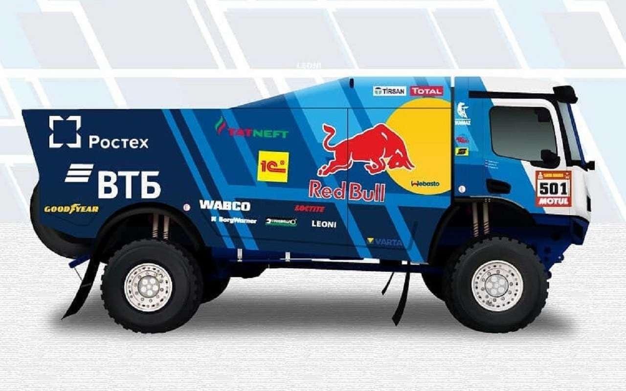 Новый грузовик «КАМАЗ-мастер»: первые изображения— фото 1237570