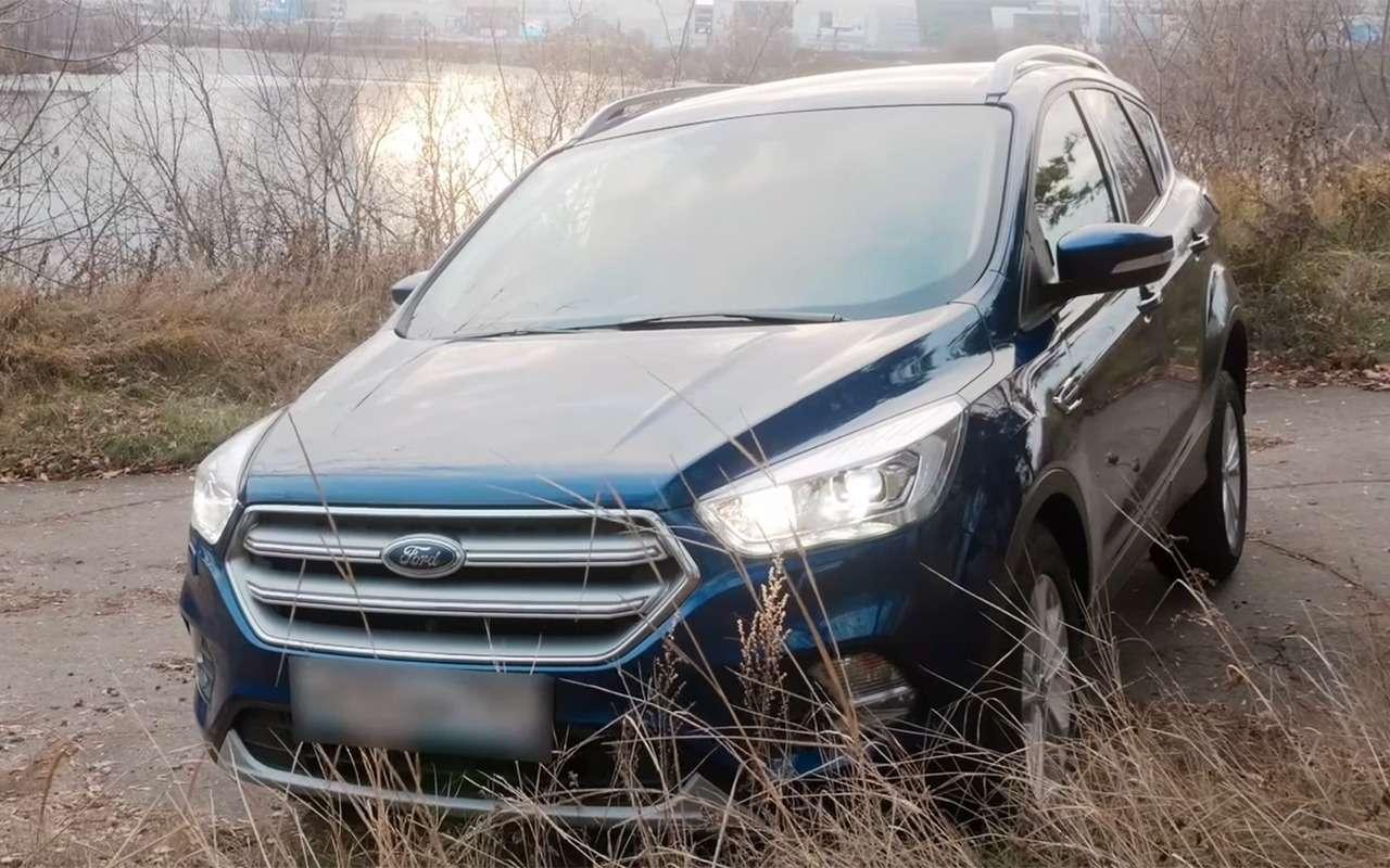 Ford Kuga— дляпенсионеров идачников? Нуужнет!— фото 935198