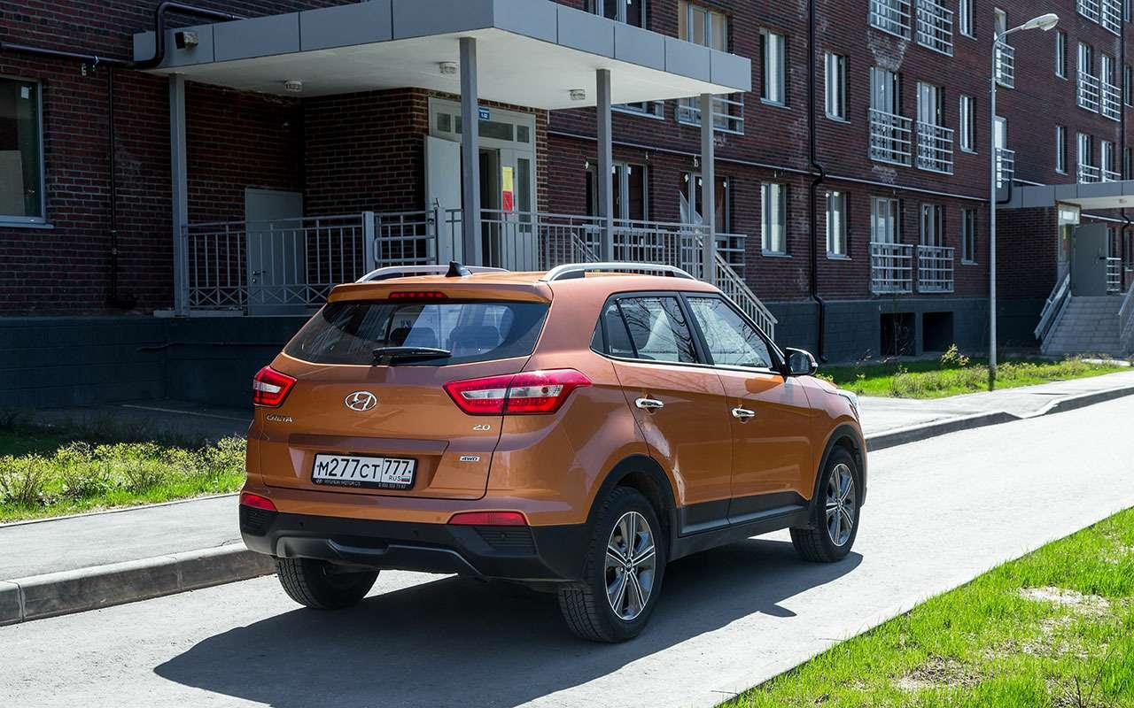 Двебольшие проблемы Hyundai Creta— рассказ владельца— фото 1090996