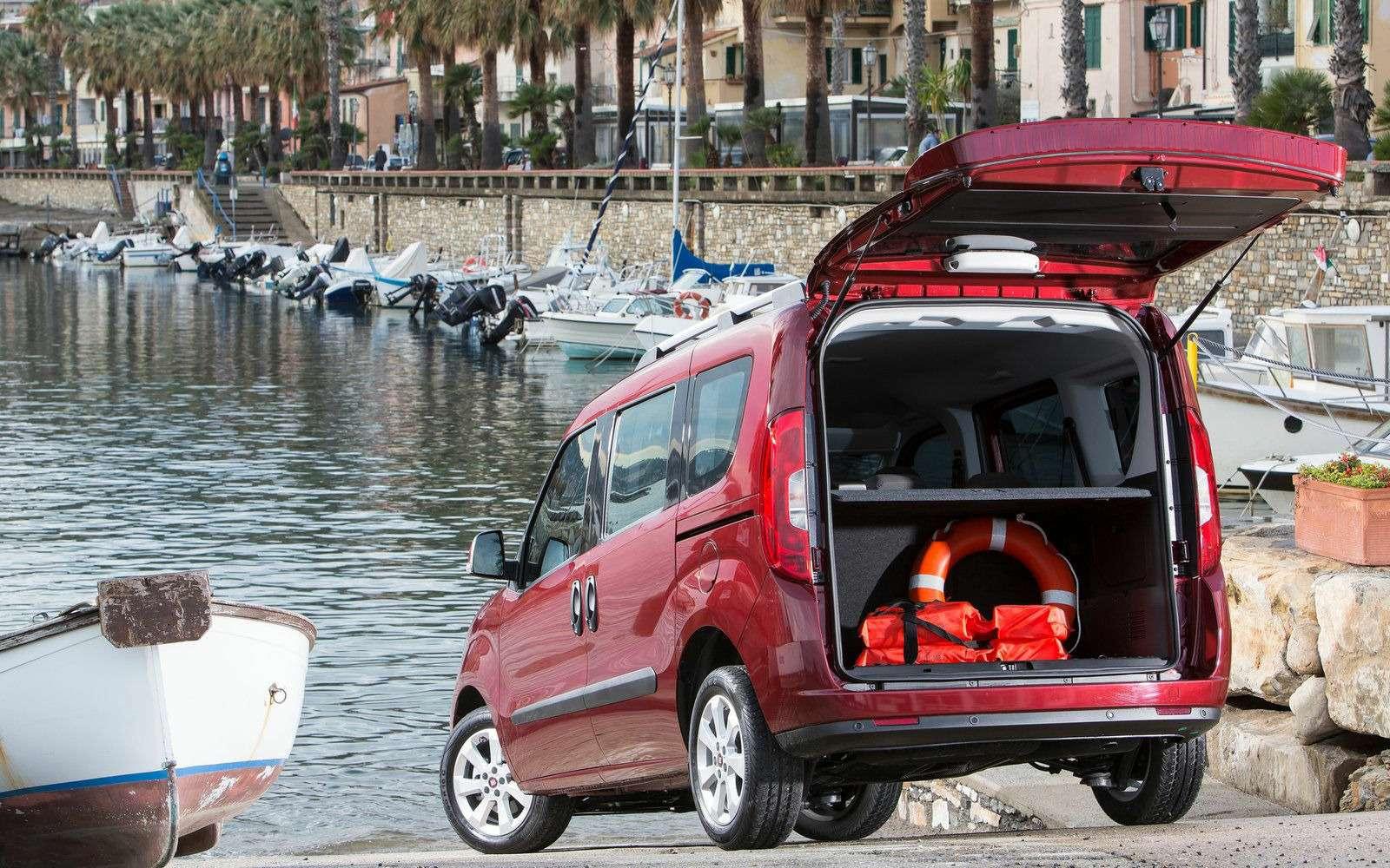 Fiat привез вРоссию конкурента Renault Dokker— фото 843304