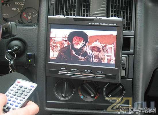 Как сделать телевизор на авто