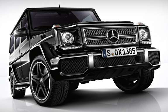 Mercedes-Benz G 65 AMG side-front view