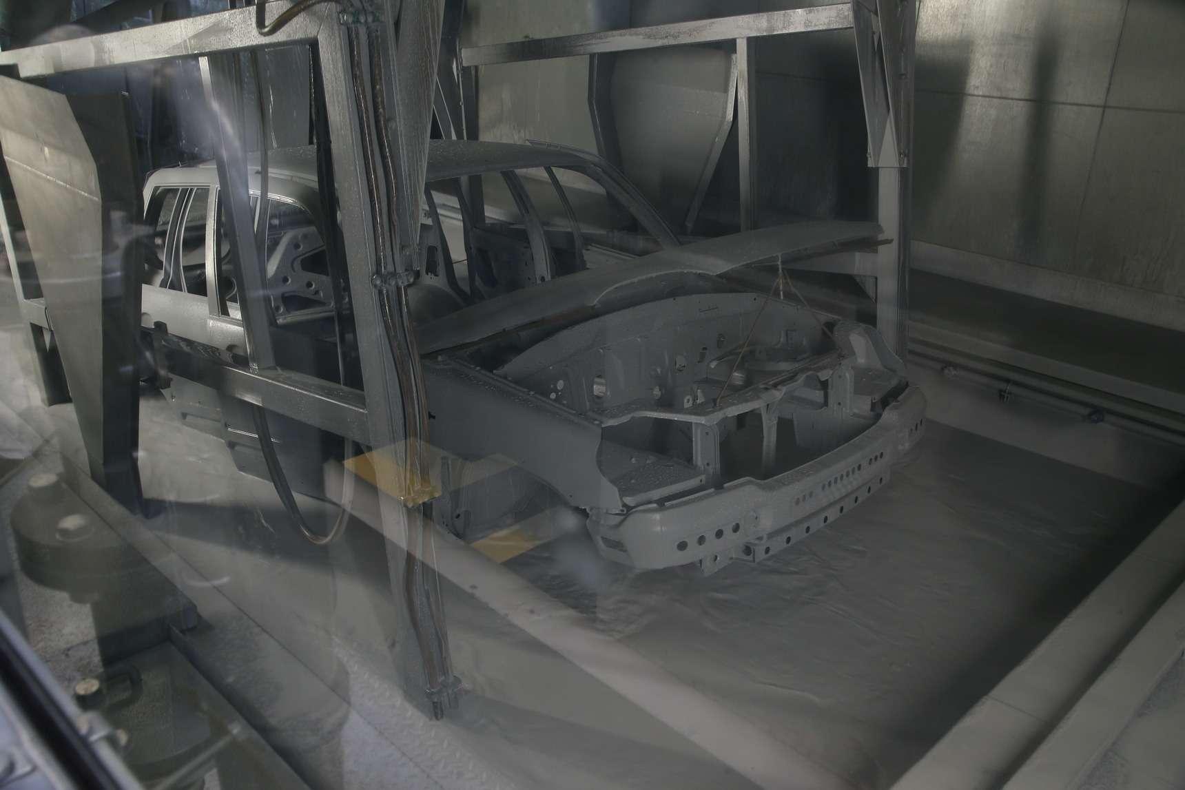 Каккрасят Chevrolet Niva: самый секретный цех СПGM-АВТОВАЗ— фото 582256