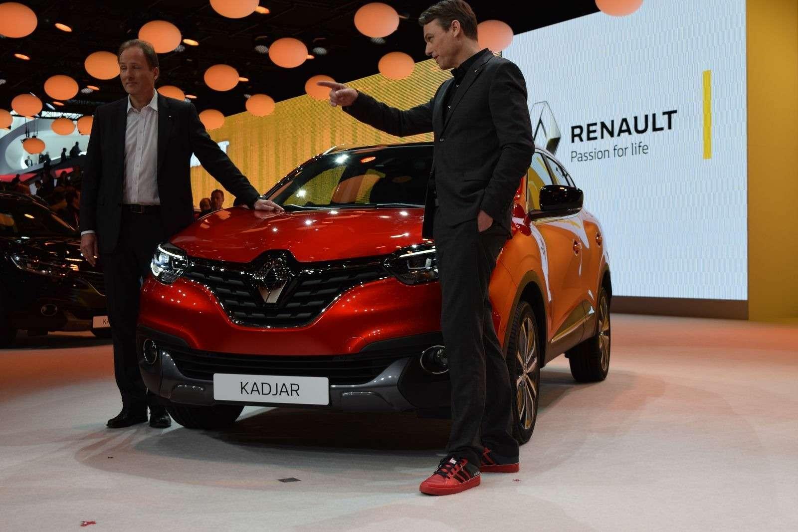 Renault Kadjar представили наавтошоу— фото 369630