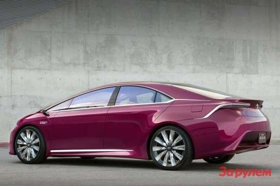 Toyota NS4 Advanced Plug-in Hybrid Concept side-rear view