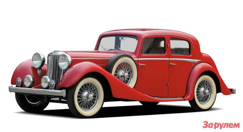 1937. Jaguar SS2½-Litre Sports Saloon