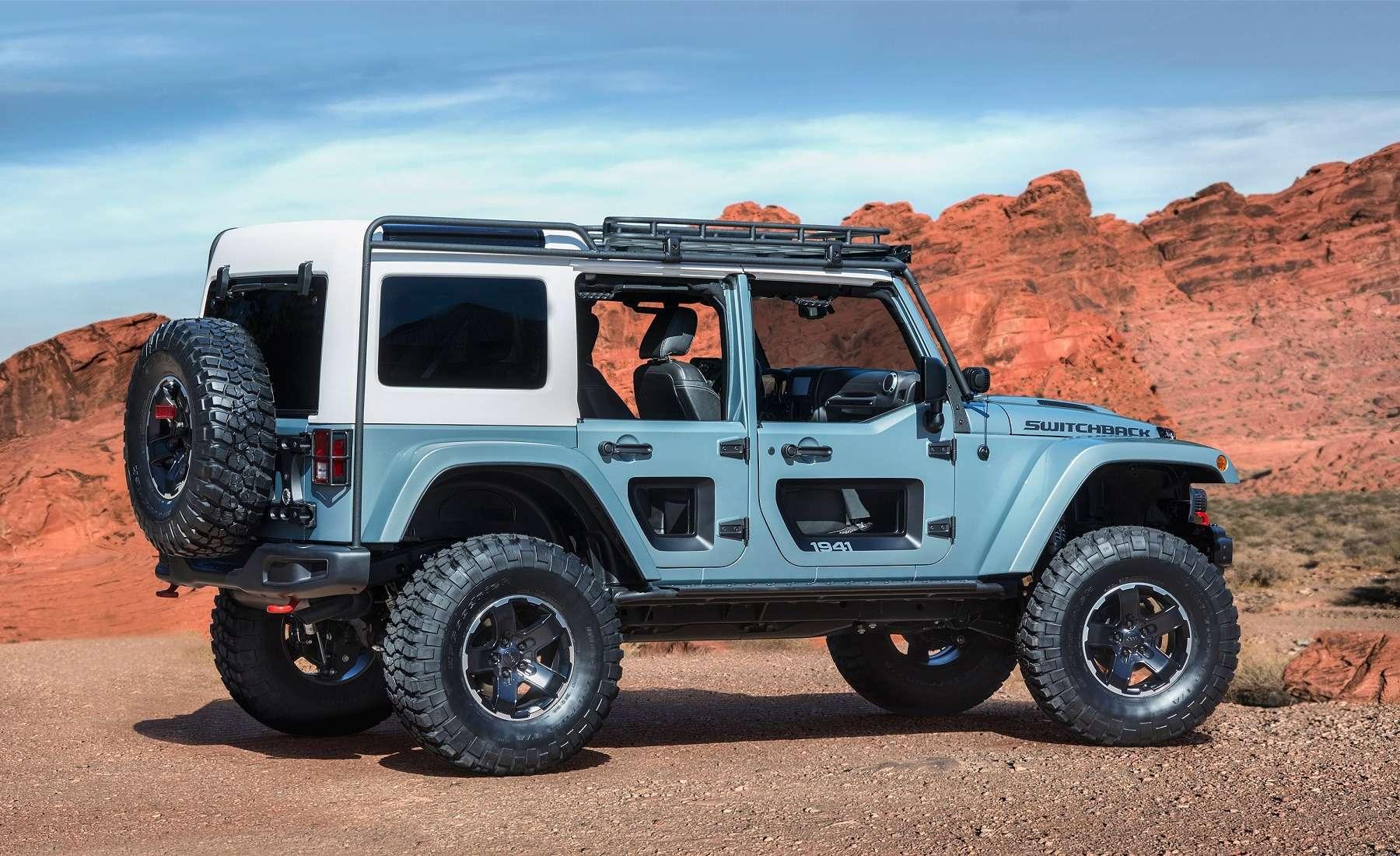 Онвернулся: Jeep представил… Grand Cherokee первого поколения— фото 729909