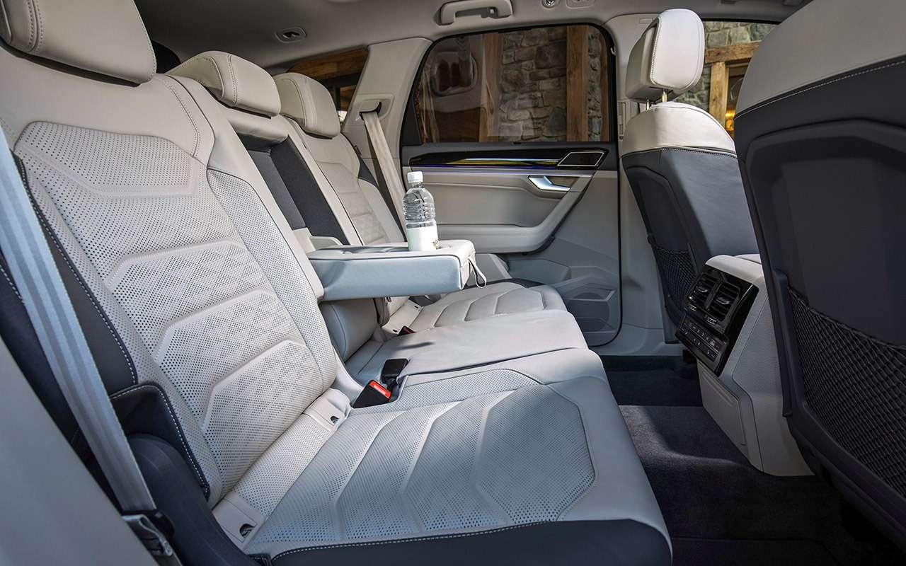 Новый Volkswagen Touareg: дизайн дляКитая истранная подвеска— фото 880138