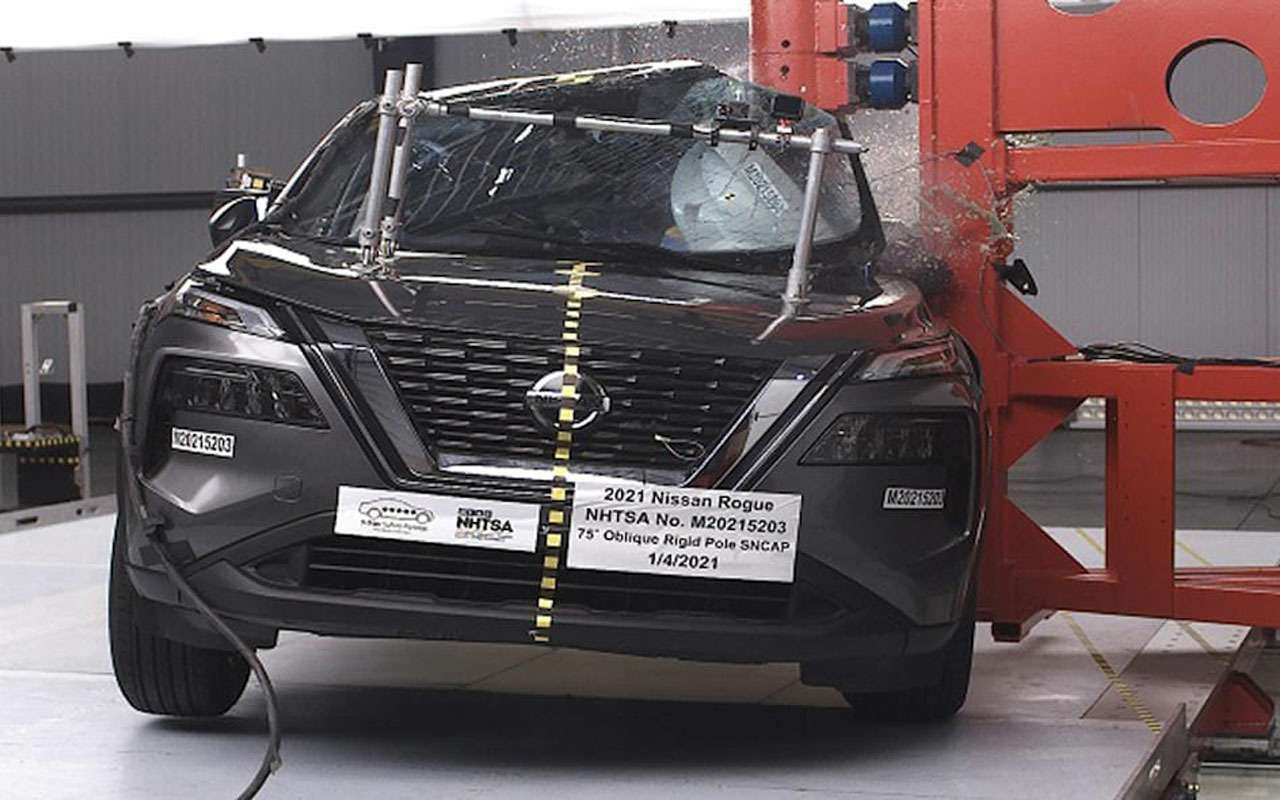Новый Nissan X-Trail накраш-тесте: пассажиру плохо!— фото 1225219