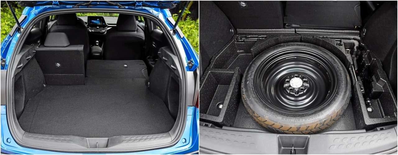 Toyota C-HR против других японских кроссоверов— большой тест-драйв— фото 902391