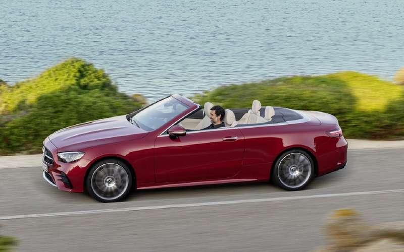 Обновленные купе и кабриолет E-Class Mercedes-Benz появятся в продаже осенью