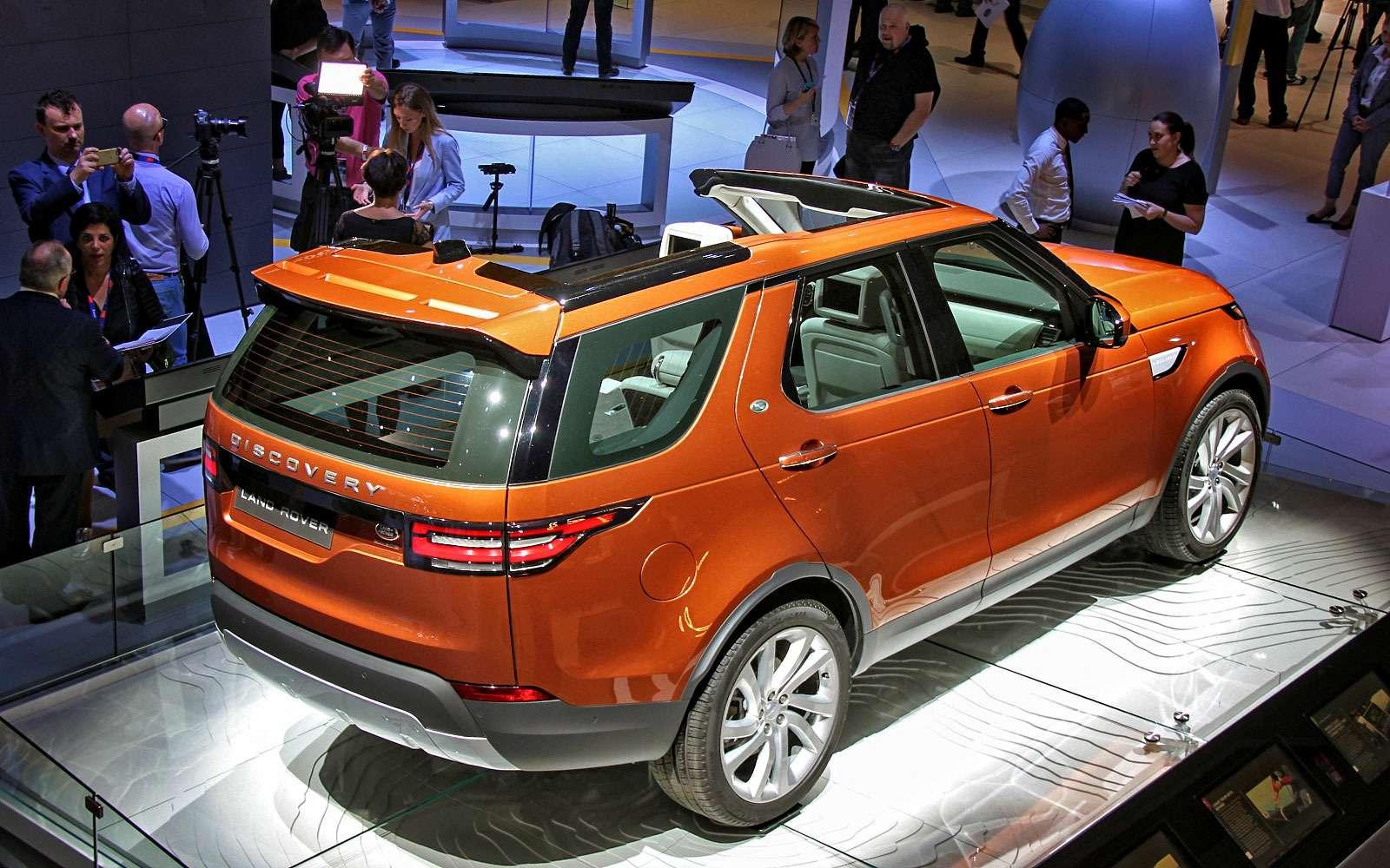 Land Rover рассекретил новый Discovery— фото 642002