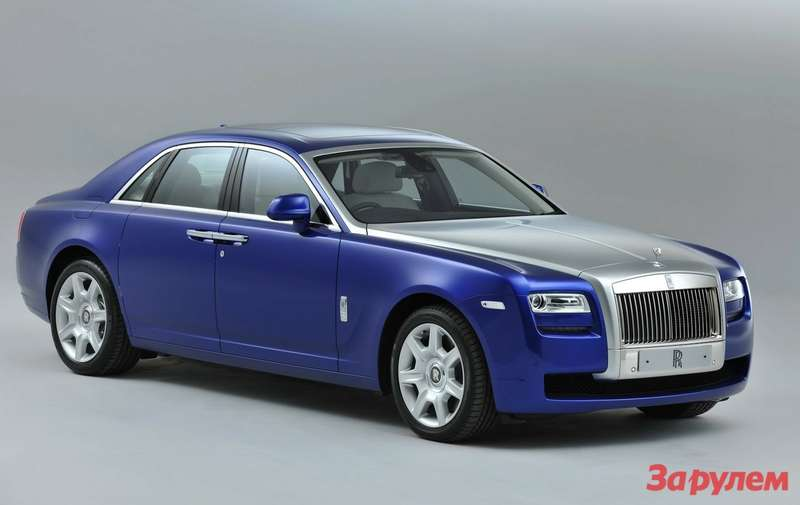 Rolls-Royce Ghost 2013 model year side-front view
