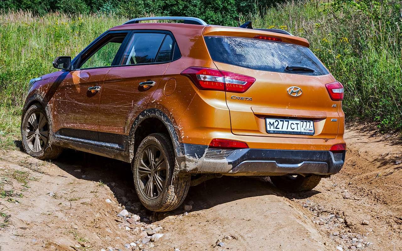 Hyundai Creta или Renault Koleos: чей полный привод круче? Часть 1— фото 825551