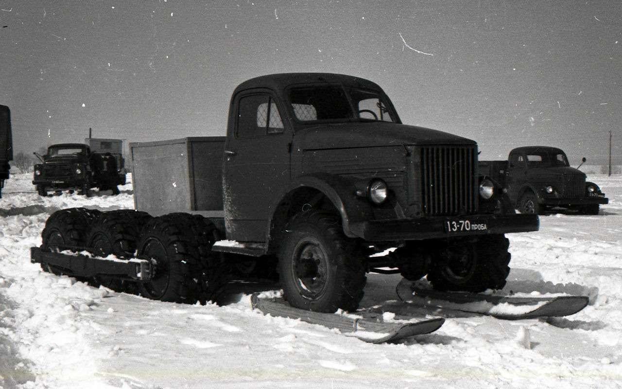 Самый популярный грузовик СССР— такого ГАЗ-51вы невидели— фото 961763