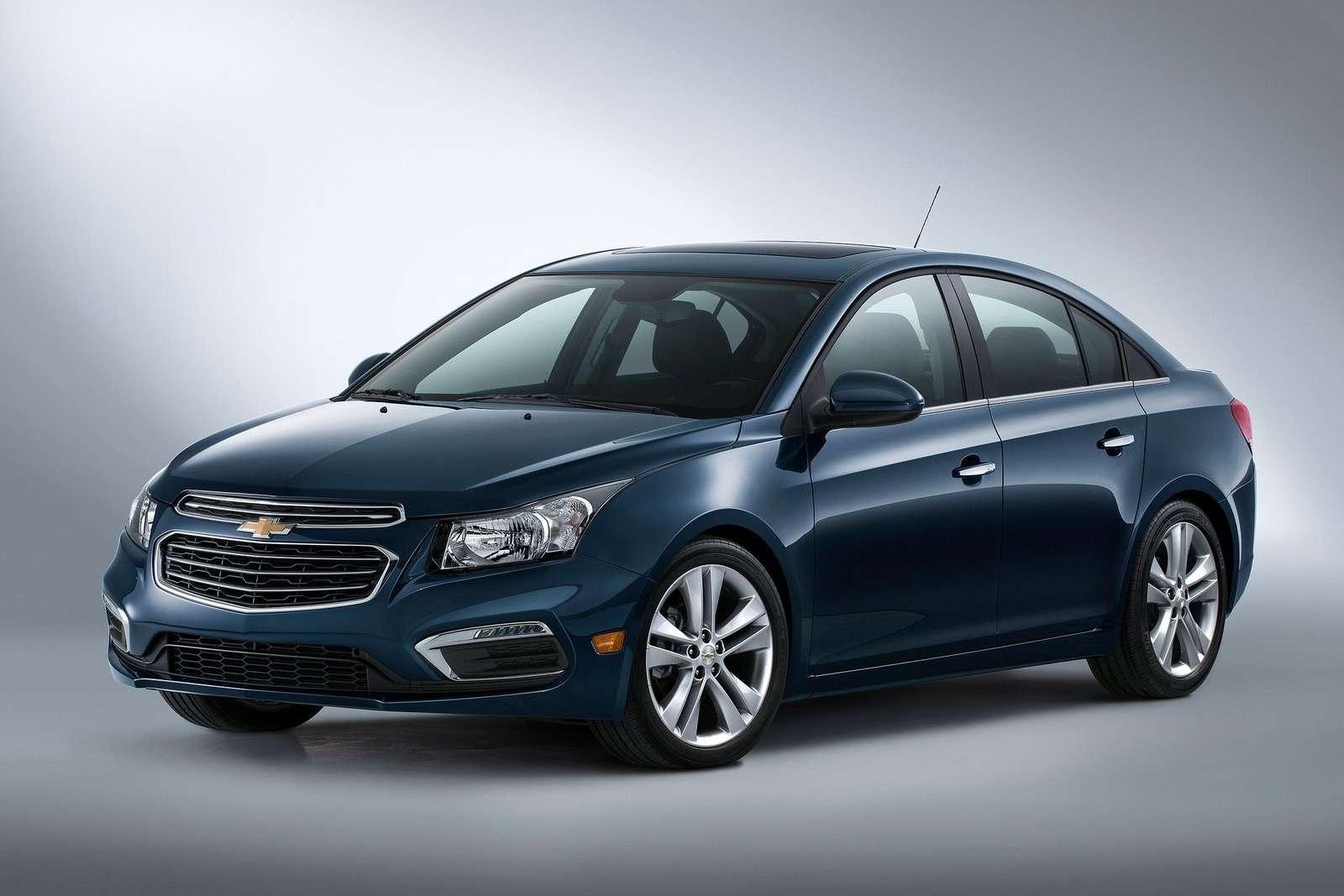 Обновленный седан Chevrolet Cruze всевероамериканской спецификации