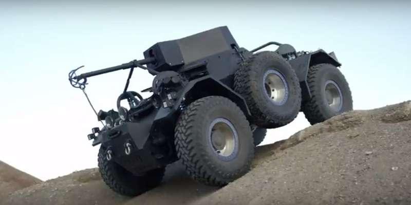 Добро скулаками: военный вседорожник прорекламировал шины