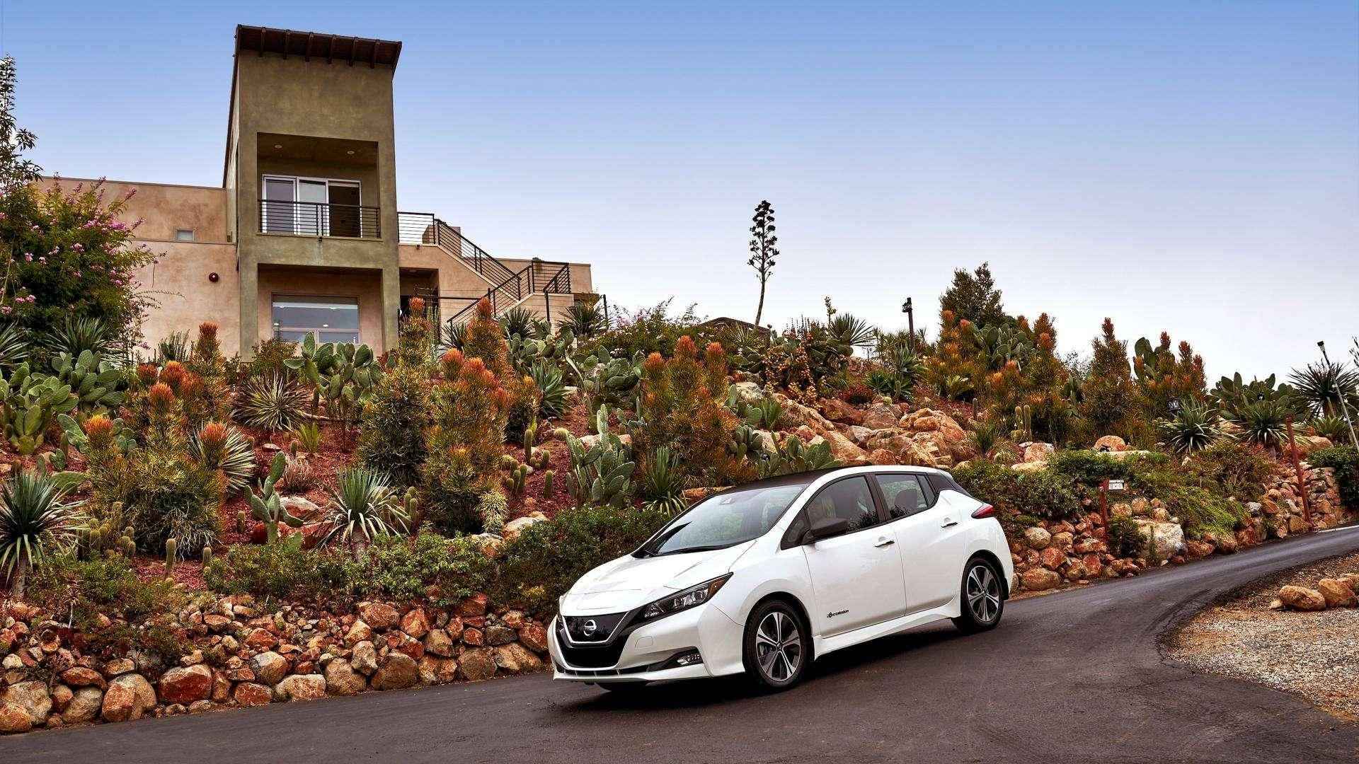 Nissan представил электромобиль дляРоссии— фото 791445