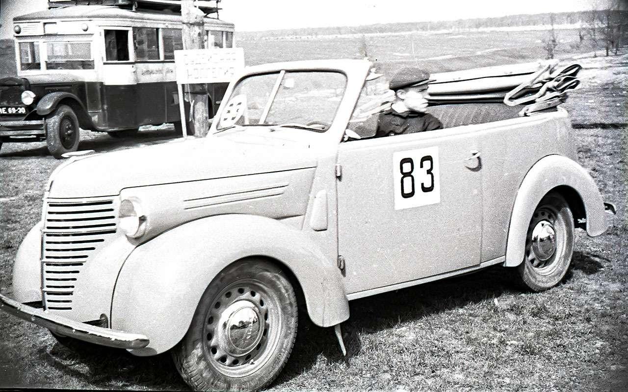 КИМ-10 кабриолет
